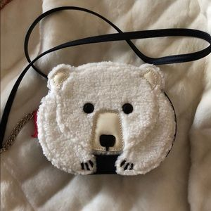 Kate Spade Novelty Polar Bear Crossbody Bag